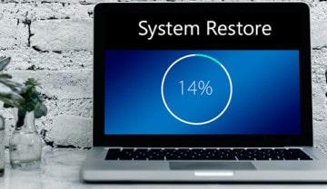 جدولة استعادة نظام ويندوز 10 7