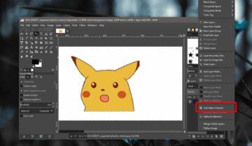 بديل Photoshop : إستخدام GiMP لإزالة الخلفية