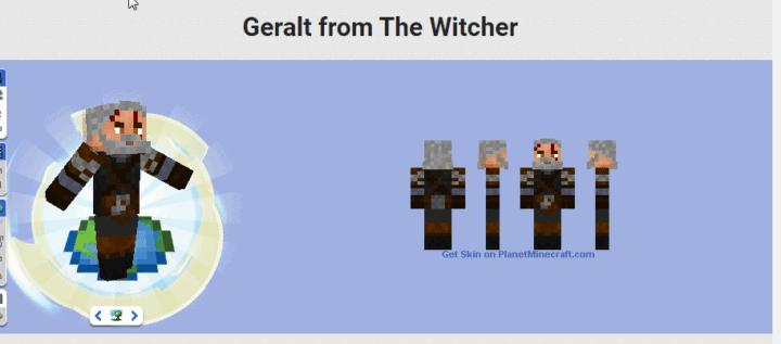 تعديل ماين كرافت : طريقة إضافة شكل Witcher 3 2