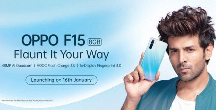الكشف عن مواصفات Oppo F15 بعد الإعلان عنه 1