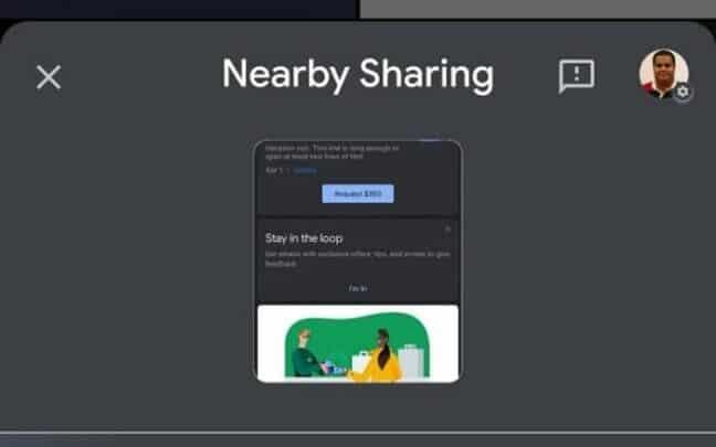 Nearby Sharing خاصية AirDrop لأجهزة الأندرويد من جوجل 2