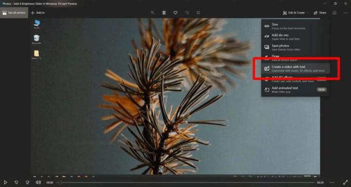 طريقة إضافة كتابة على الفيديو في ويندوز 10 2