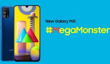 الإعلان عن سامسونج Samsung Galaxy M31 الجديد 8
