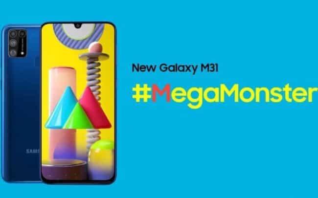 الإعلان عن سامسونج Samsung Galaxy M31 الجديد 1