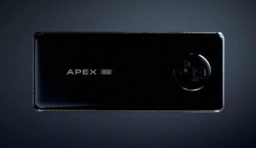 الإعلان عن فيفو Vivo Apex 2020 هاتف مستقبلي جديد 3