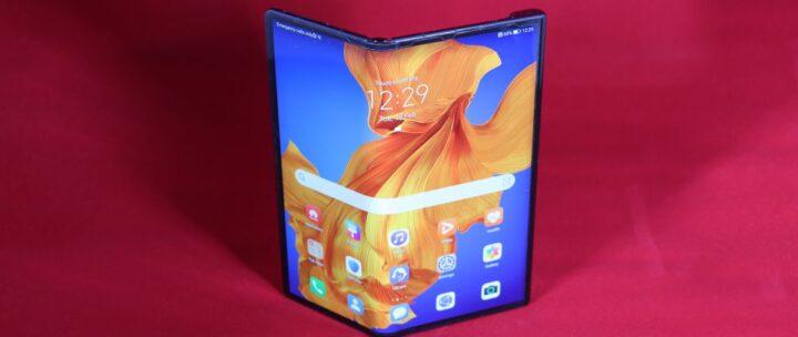 الإعلان عن هواوي Huawei Mate XS القابل للطي 1