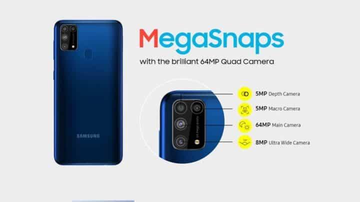 الإعلان عن سامسونج Samsung Galaxy M31 الجديد 3