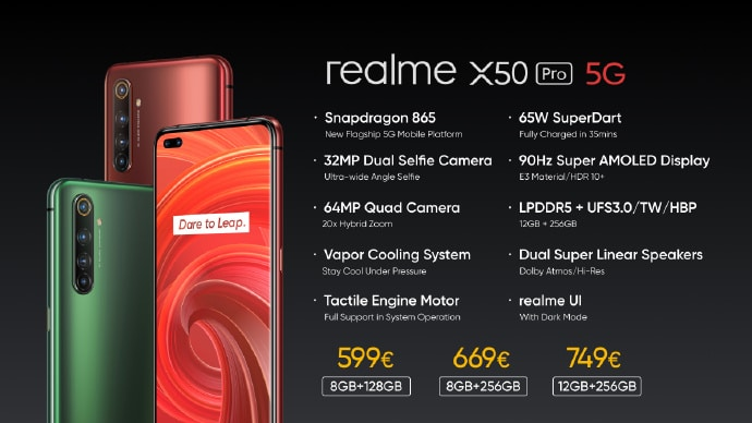 مواصفات ريلمي Realme X50 Pro 5G و مميزاته و السعر 7