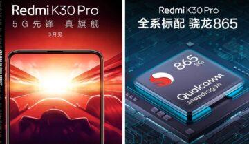 ريدمي كي 30 برو Redmi K30 Pro قادم في مارس 2020 3