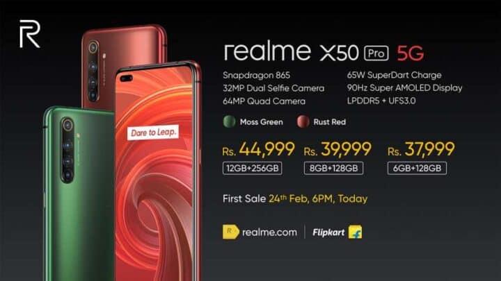 الإعلان عن ريلمي اكس 50 Realme X50 5G الجديد 7