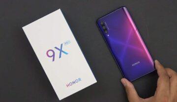 سعر Honor 9X Pro مع مواصفاته التقنية و المميزات 2