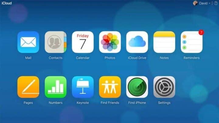 استعمل خدمات ICloud على هاتف اندرويد 3