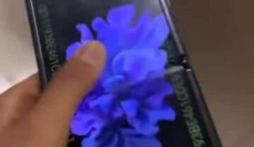ظهور فيديو Galaxy Z Flip يبين طريقة فتحه 6