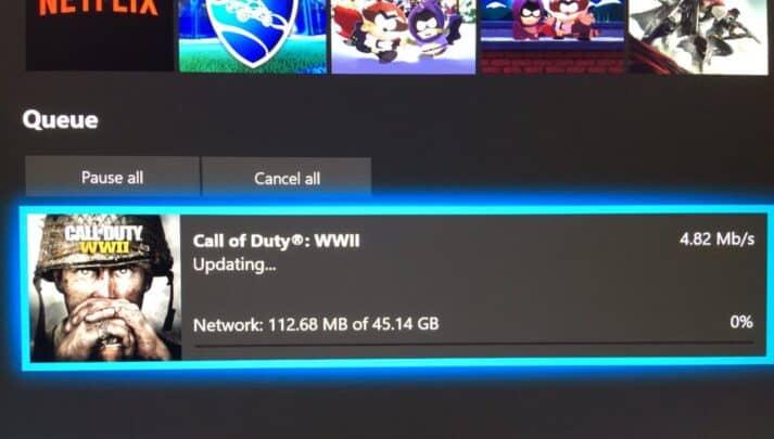 طريقة زيادة سرعة تحميل الألعاب على Xbox one 1