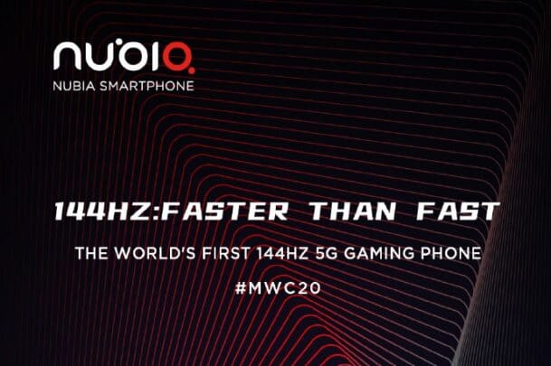 هاتف Red Magic 5G سيأتي بشاشة 144 هرتز مع شحن بقوة 80 واط 1