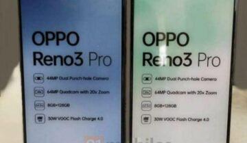 ظهور Oppo Reno 3 Pro مع مواصفاته 7