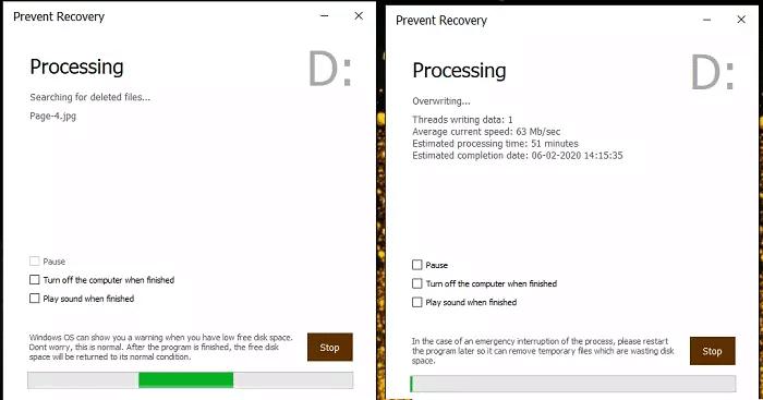 طريقة حذف الملفات من MFT نهائياً لمنع إستعادتها 3