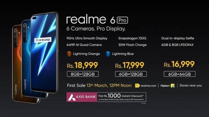 الإعلان عن ريلمي 6 Realme 6 بنسختيه 7