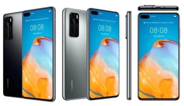 الإعلان عن هواتف هواوي Huawei P40 الرائدة 1