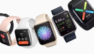اوبو تعلن عن ساعة Oppo Watch الذكية الجديدة 5