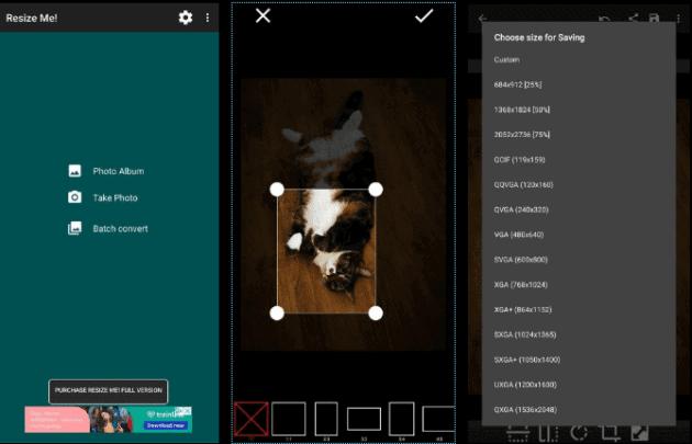 3 تطبيقات تعديل الصور وتغيير حجمها على الهواتف 4