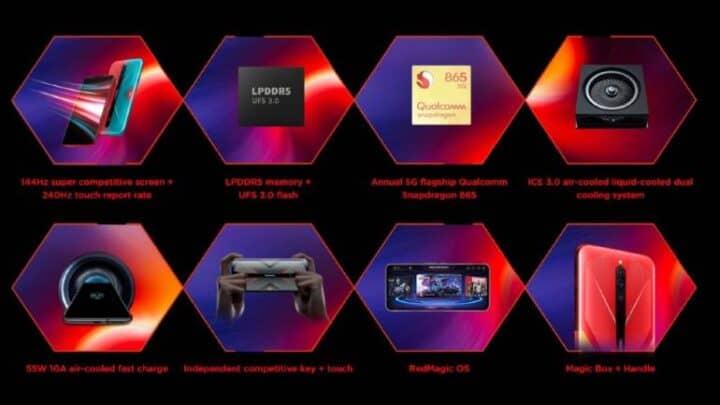 الإعلان عن Nubia Red Magic 5G مخصص للألعاب 4