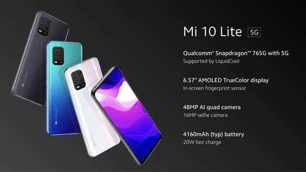 الإعلان عن هاتف Mi 10 Lite مع اطلاق سلسلة Mi 10 عالمياً 7