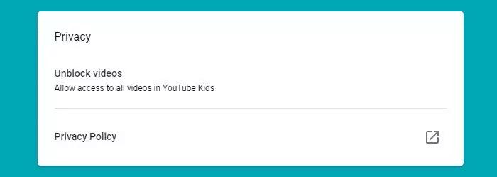 طريقة حظر فيديو في يوتيوب اطفال على ويندوز 10 3