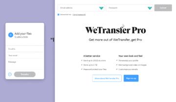 طريقة إستخدام WeTransfer لنقل الملفات مع ويندوز 10
