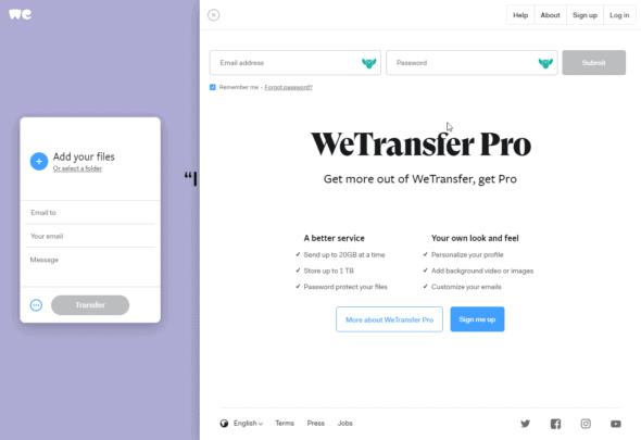 طريقة إستخدام WeTransfer لنقل الملفات مع ويندوز 10 2