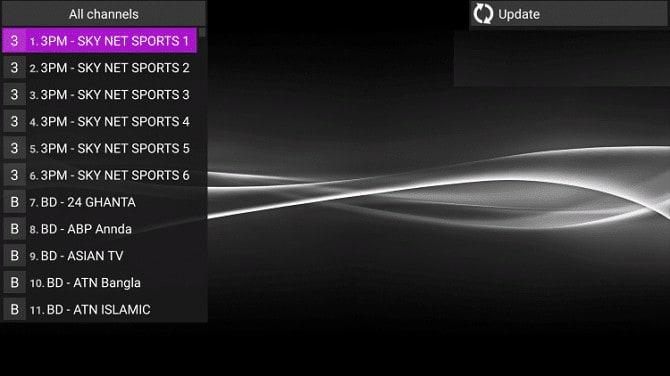 أفضل 4 برامج iPTV المجانية على الأندرويد 3