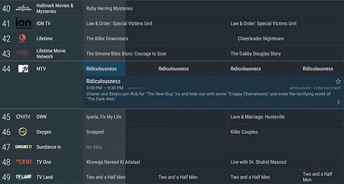 أفضل 4 برامج iPTV المجانية على الأندرويد 2