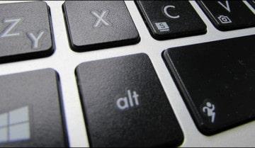 طريقة إغلاق الكيبورد بضغطة زر في ويندوز 10 4