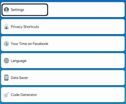 كيفية اغلاق تتبع فيس بوك لنشاطاتك على هاتفك 2
