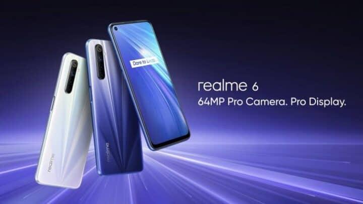 الإعلان عن هواتف ريلمي 6 Realme 6 في مصر