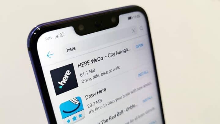 اطلاق تطبيق Here WeGo على متجر تطبيقات Huawei 1