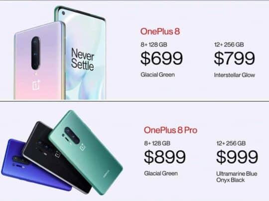 الإعلان عن هواتف OnePlus 8 الجديدة بشكل رسمي 11