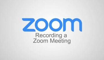 كيفية العثور على تسجيلات Zoom و التعديل عليها 3