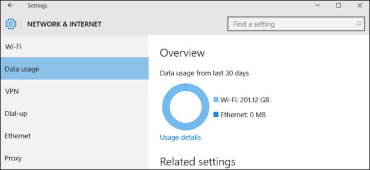 كيفية تقليل استهلاك الإنترنت على ويندوز 10 1