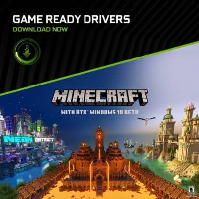يمكنك تجربة Minecraft RTX أخيراً في طور Beta 8