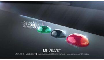 LG Velvet يصدر قريباً في 7 مايو 17