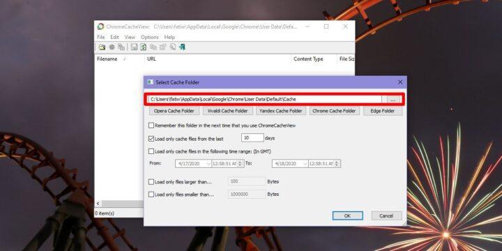 كيف تقوم بعرض Chrome Cache في ويندوز 10 2