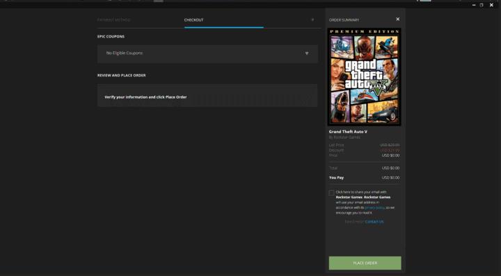 تحميل لعبة GTA V مجانًا من متجر Epic Games 2020 9