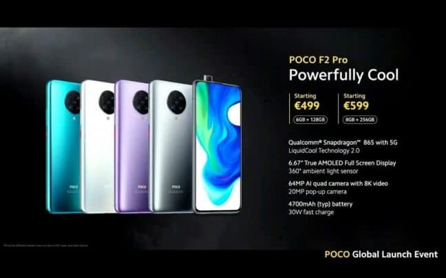 مواصفات و سعر Poco F2 Pro و العيوب 5
