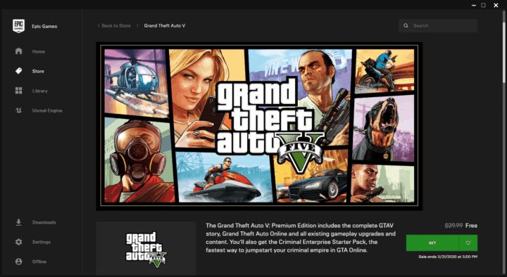 تحميل لعبة GTA V مجانًا من متجر Epic Games 2020 7