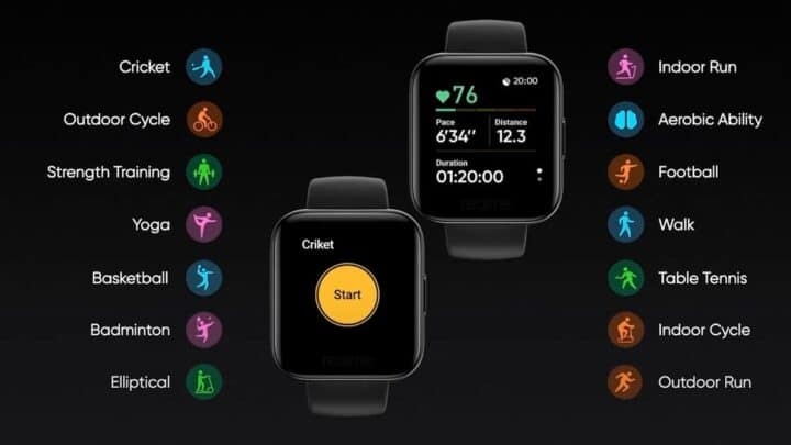 ساعة Realme Watch نسخة من Apple Watch بسعر رخيص 1