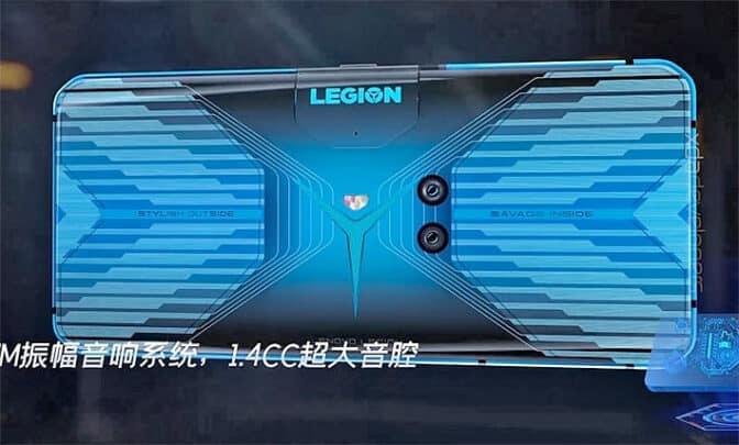 تسريبات Lenovo Legion هاتف بمعدل تحديث 144Hz 2