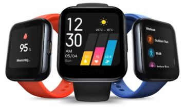 ساعة Realme Watch نسخة من Apple Watch بسعر رخيص 6