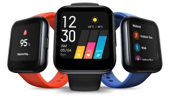 ساعة Realme Watch نسخة من Apple Watch بسعر رخيص