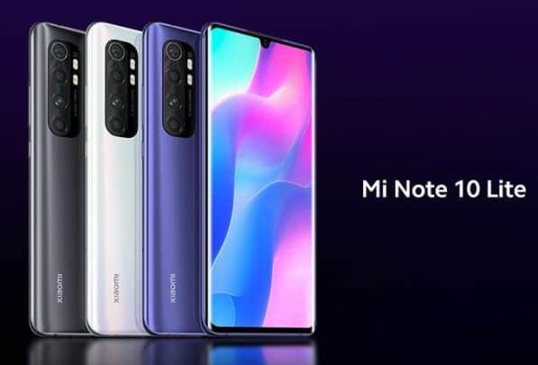 شاومي تطلق Mi Note 10 Lite في مصر رسميًا 1